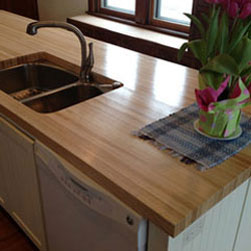 "12"" x 132"" Ash Butcher Block Countertop"