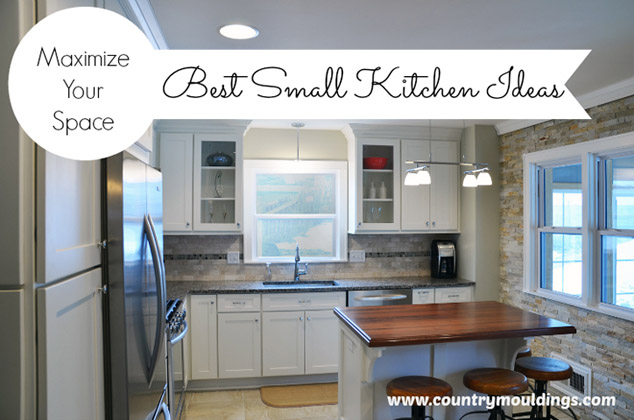 The best small kitchen ideas making the most of small for Kitchen island designs for small spaces