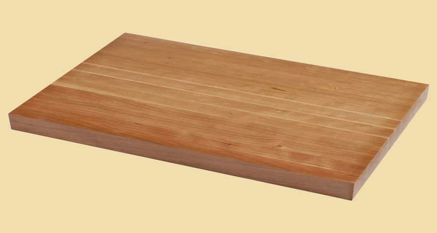 Prefinished wood butcher block countertops