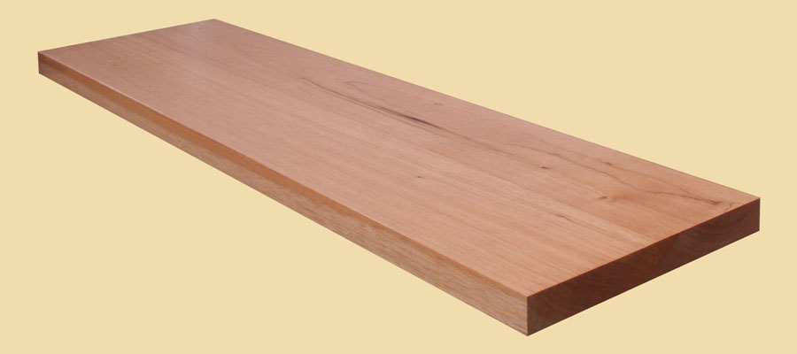 Spanish cedar plank countertop for Plank blocks