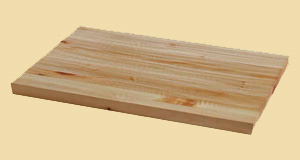 Prefinished Knotty Pine Hand Scraped Butcher Block Countertops
