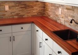 Prefinished Wood Butcher Block Countertops