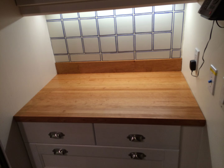 American Cherry Butcher Block Countertop