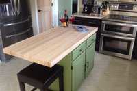 Beech Butcher Block Countertop