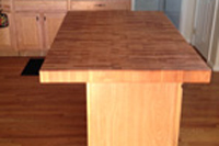 Beech End Grain Butcher Block Countertop