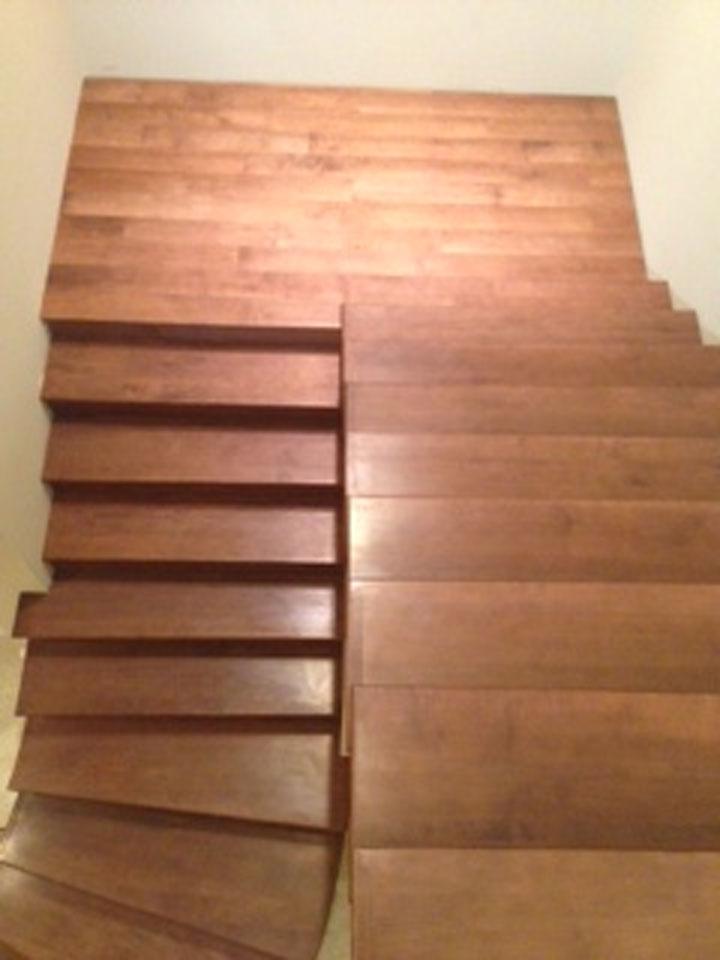 Hard Maple Stair Tread