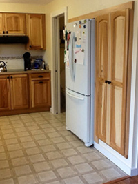 Prefinished Hickory Kitchen Cabinet Door
