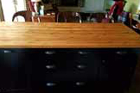 Knotty Alder Butcher Block Countertop