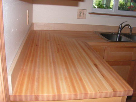 Maple butcher block countertop roselawnlutheran How to install butcher block countertop