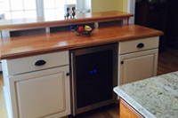 Prefinished American Cherry Plank Countertop