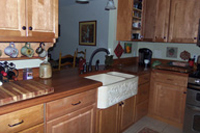 Prefinished Brazilian Cherry Plank Countertop