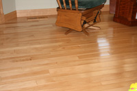 Prefinished hickory harwdood flooring