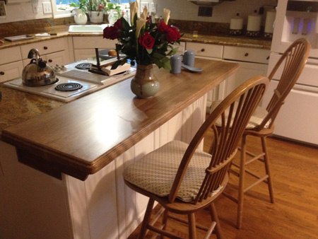 Quartersawn White Oak Plank Style Countertop Quote And