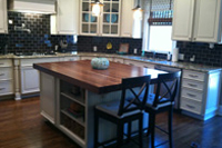 Prefinish Walnut Butcher Block Countertop