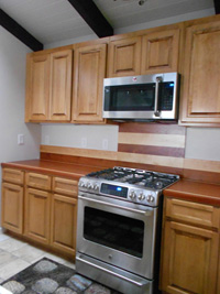 Prestained Maple Kitchen Cabinets