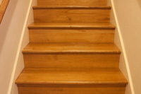 Prestained Maple Stair Tread