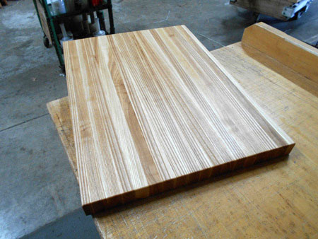 Prefinished Ash Butcher Block Countertop
