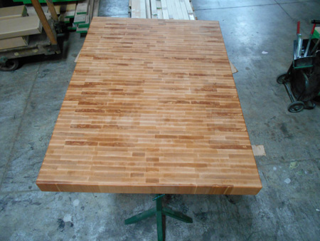 Prefinished Beech End Grain Butcher Block Countertop