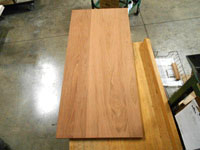 Brazilian Cherry Plank Countertop