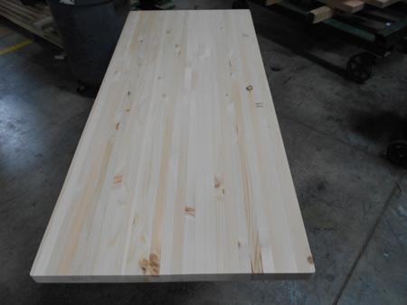 Superbe Knotty Pine Butcher Block Countertop