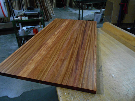 Etonnant Prefinished Mahogany Butcher Block Countertop