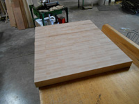 Maple End Grain Butcher Block Countertop