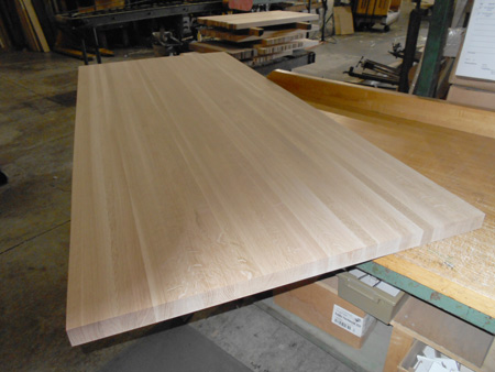 Exceptionnel White Oak Butcher Block Countertop