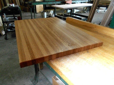 Bon Prefinished White Oak Butcher Block Countertop