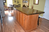 Red Oak Butcher Block countertop