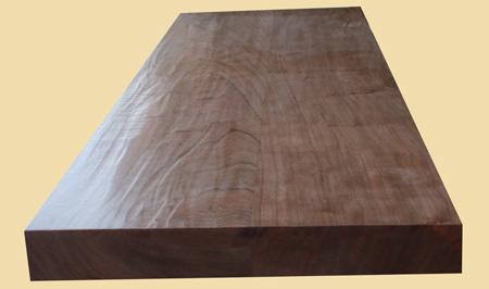 Hand Scraped American Cherry Extra Thick Stair Tread