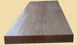 Prefinished Hand Scraped Quartersawn Red Oak Extra Thick Stair Treads
