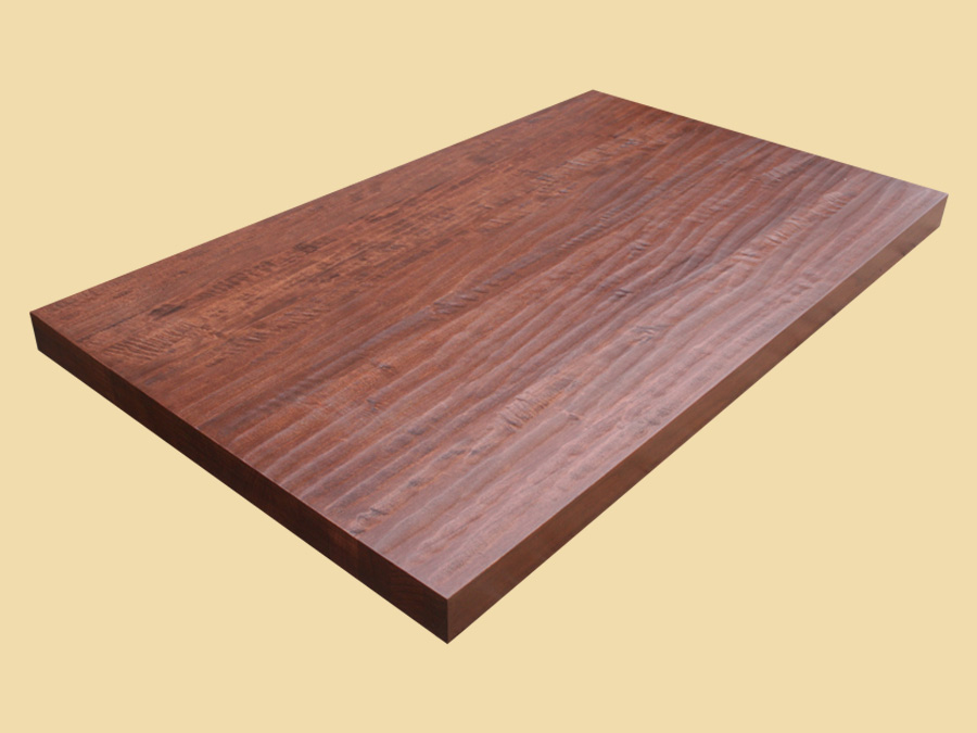 Hand Scraped Bordeaux Cherry Butcher Block Quote And