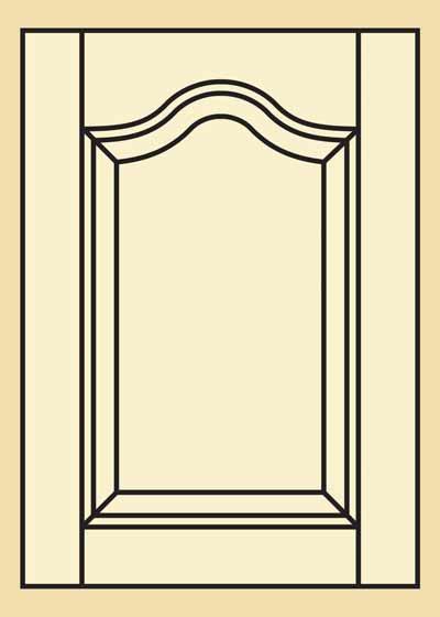 Mahogany Kitchen Cabinet Door 201