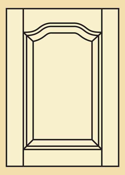 Poplar Kitchen Cabinet Door   203