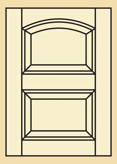 Quartersawn red oak kitchen cabinet door 402 quote and for Red kitchen cupboard doors