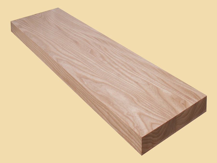Custom size ash extra thick stair tread quote and order for Stair designer online