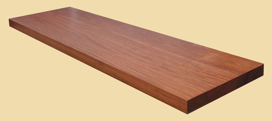 Brazilian Cherry Wide Plank Countertops Country Mouldings