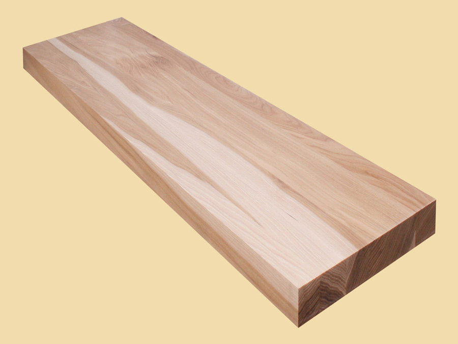 Custom Size Hickory Extra Thick Stair Tread Quote And
