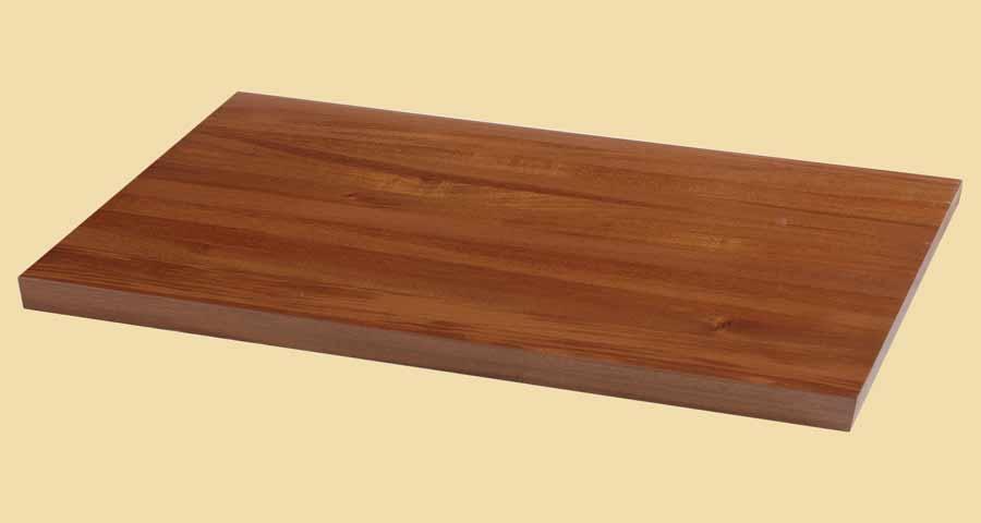 Custom Size Mahogany Butcher Block Countertop