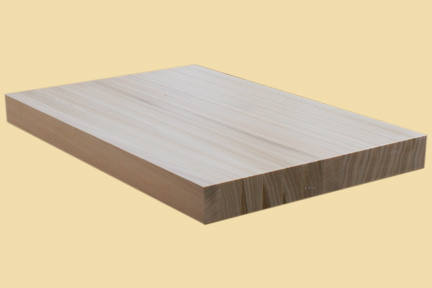 custom size poplar butcher block prefinished quote and