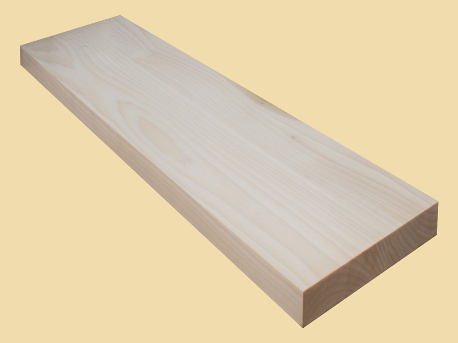 Poplar Extra Thick Stair Tread