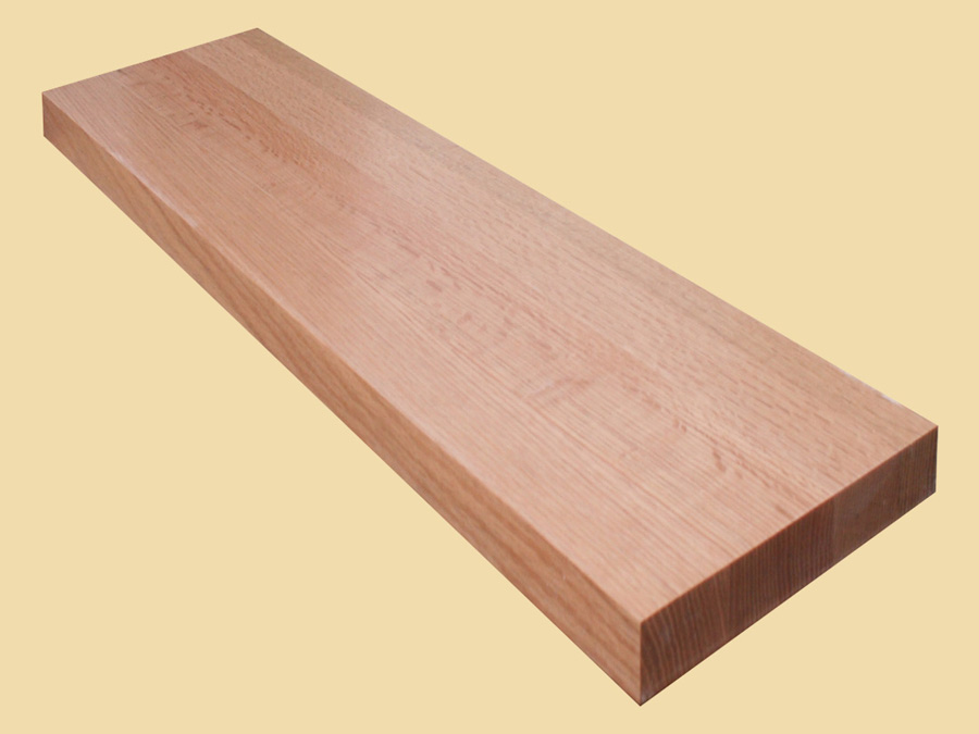 Custom Size Quartersawn Red Oak Extra Thick Stair Tread Prefinished Quote And Order Any Size Prefinished Stair Tread Online Country Mouldings
