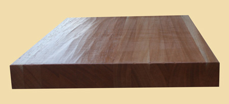 Spanish Cedar Hand Scraped Butcher Block Countertop