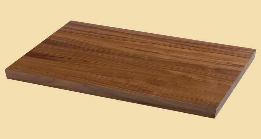 Custom Size Walnut Butcher Block - Prefinished
